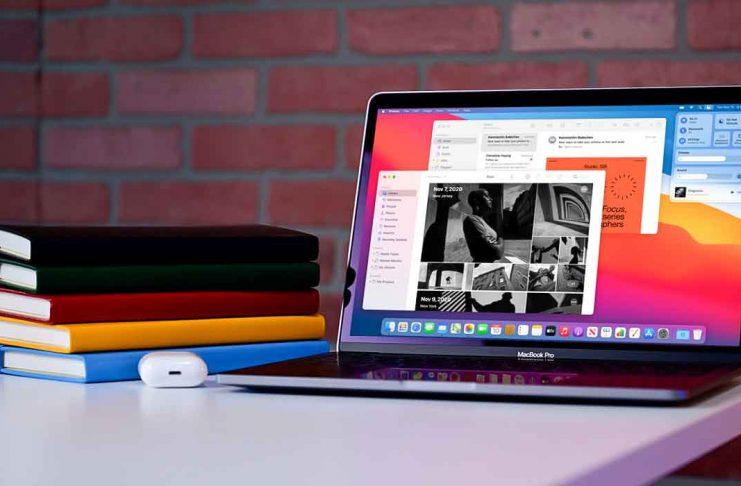 The MacBook Pro M1-13 inch